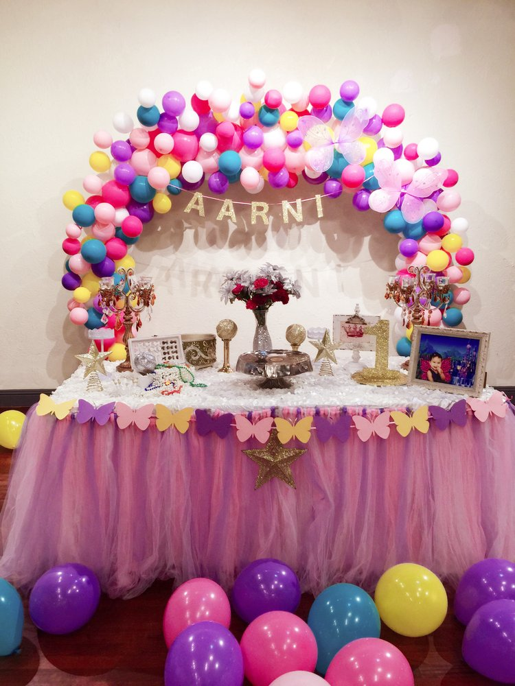 WeLP PARTY helped several clients to decorate her little girls