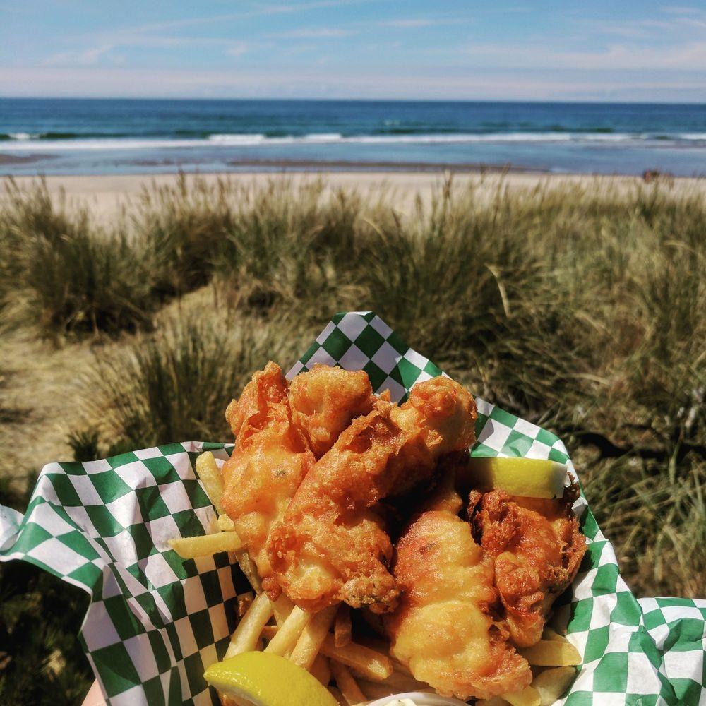 Sea Baron Fish & Chips: 225 Garibaldi Ave, Garibaldi, OR