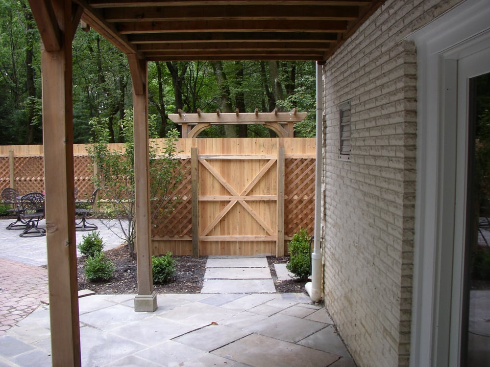 A back yard entrance yelp for Outdoor living spaces florida