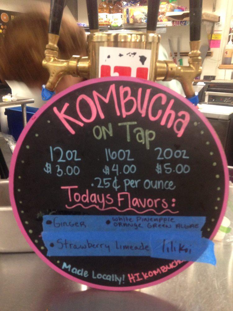 how to put kombucha on tap
