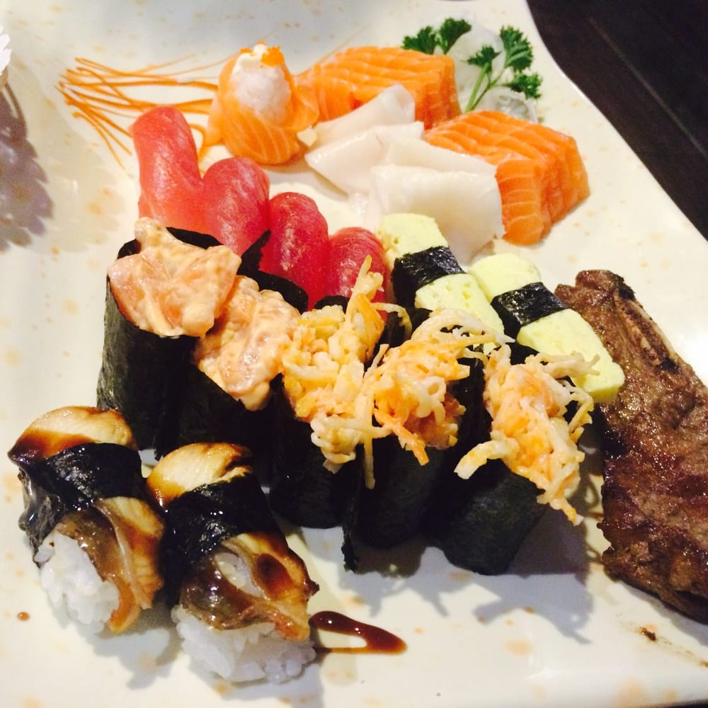 ayce sashimi sushi spread yelp. Black Bedroom Furniture Sets. Home Design Ideas