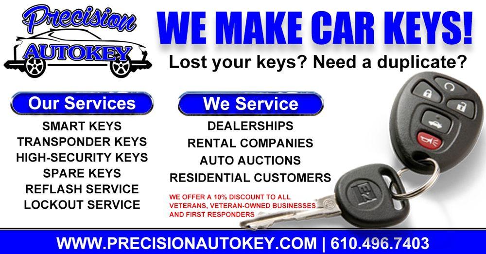 precision auto key: Collegeville, PA