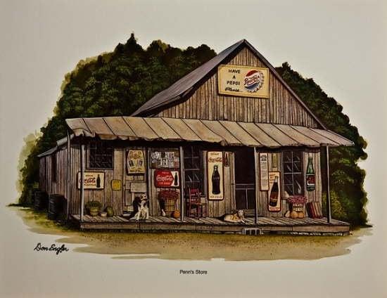 Penn's Store: 257 Penn's Store Rd, Hustonville, KY