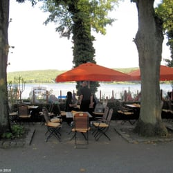 restaurant haus am see cervecer a al aire libre neue scheune 19 caputh brandenburg. Black Bedroom Furniture Sets. Home Design Ideas