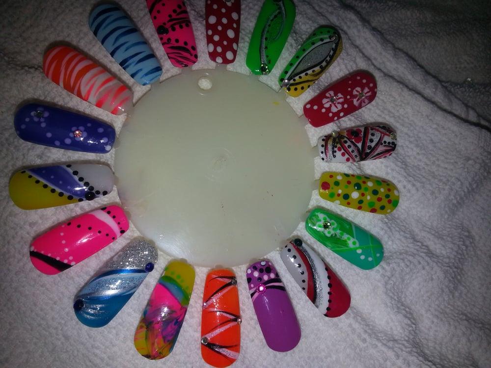 Photo of CD'Z Nails - Phoenix, AZ, United States. Freestyle nail - Freestyle Nail Designs - Yelp