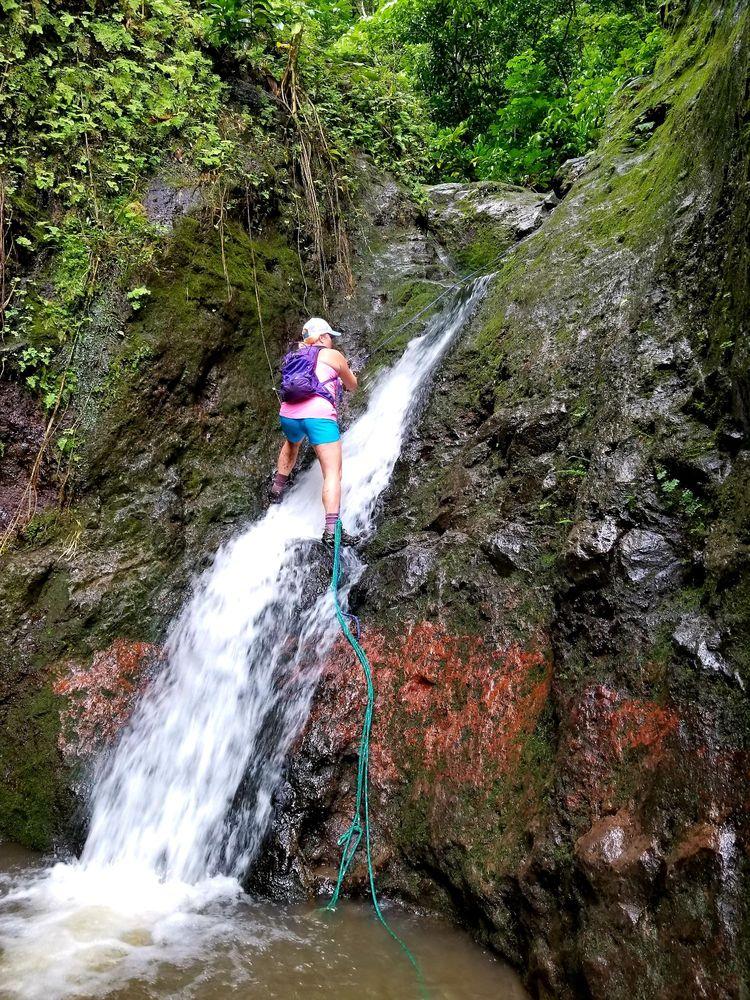 Makaua Falls Trail: 51520 Huamalani Rd, Kaaawa, HI
