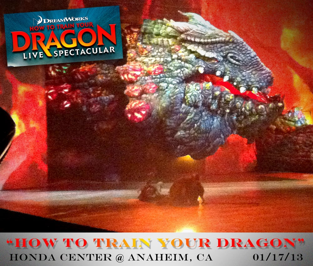 how to train your dragon live spectacular red death