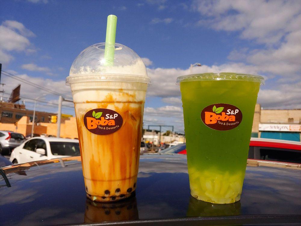 S&P Boba Tea: 7050 Terminal Sq, Upper Darby, PA