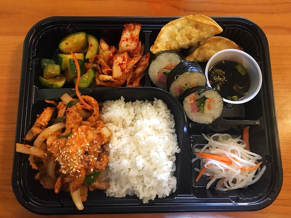 Food from Kimchi-Korean Restaurant