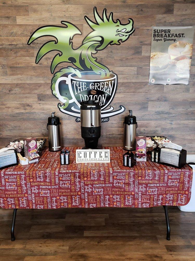 The Green Dragon Coffee House: 8285 Arnt Blvd, Watervliet, MI