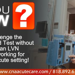 cna acute care nursing schools panorama city los