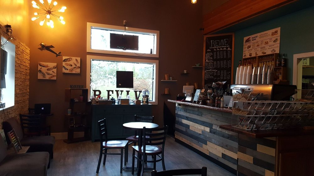 Revive Coffeehouse & Frozen Yogurt: 174 SW Sedgwick Rd, Port Orchard, WA