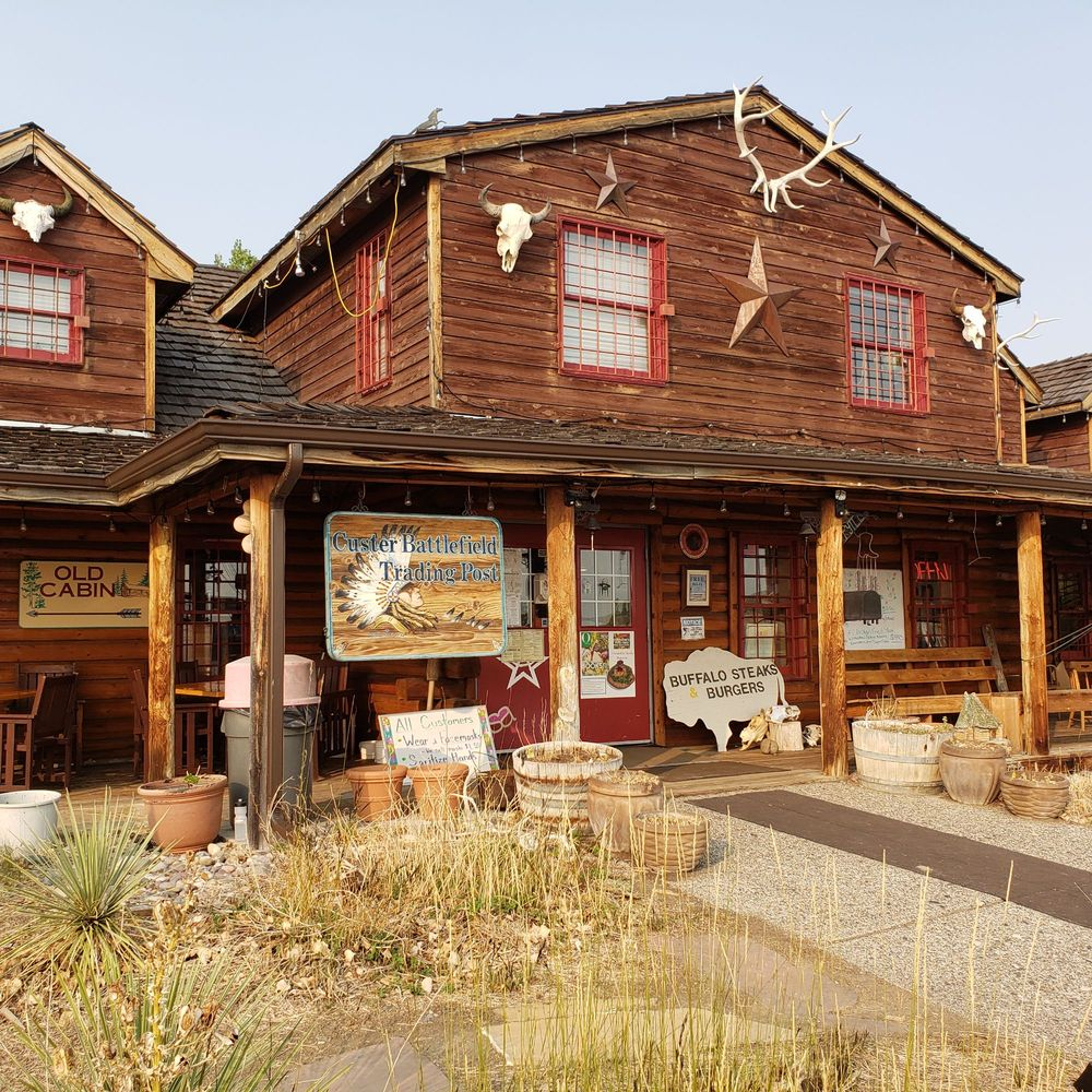 Custer Battlefield Trading Post: 347 Hwy 212, Crow Agency, MT