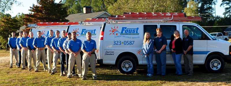Foust Heating & Air Conditioning: 2976 Dunn Rd, Eastover, NC