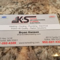 Photo Of K S Heating Air Conditioning Plumbing Electric Rochester Mn