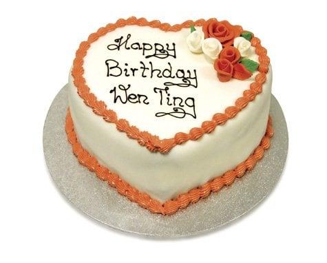 Heart Shaped Birthday Cake - Yelp