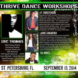 Thrive Dance Studios logo