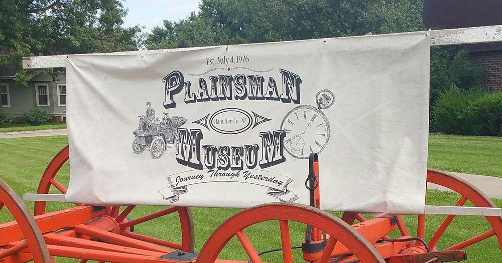 Plainsman Museum: 210 16th St, Aurora, NE