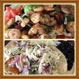 ... Vereinigte Staaten. Bacon and shrimp nachos a must and Baja fish tacos