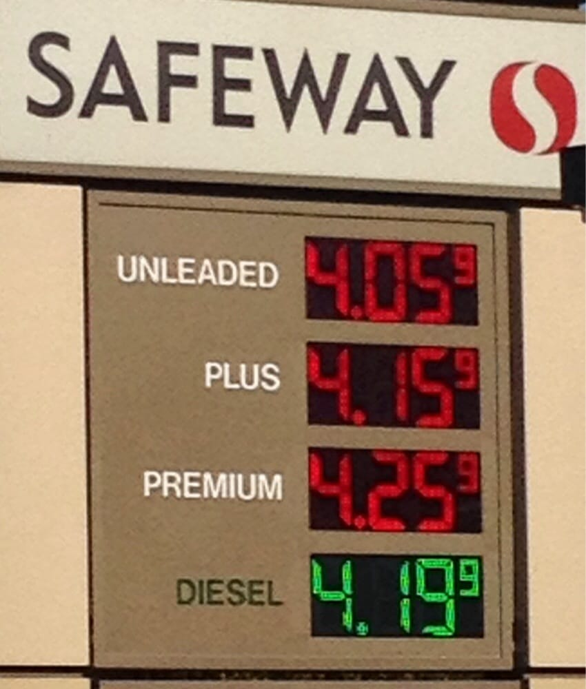 Diesel Gas Stations Near Me >> Safeway Fuel Station - 10 Reviews - Petrol & Service ...