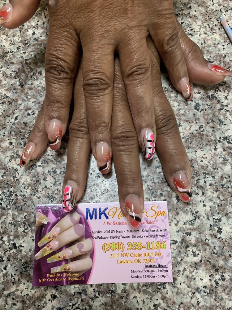 MK Nails and Spa: 2215 NW Cache Rd, Lawton, OK