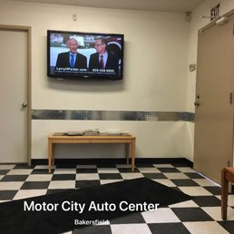 Photo of Motor City Auto Center - Bakersfield, CA, United States. Inside waiting