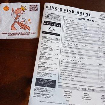 King 39 s fish house long beach ca house decor ideas for Fish house menu
