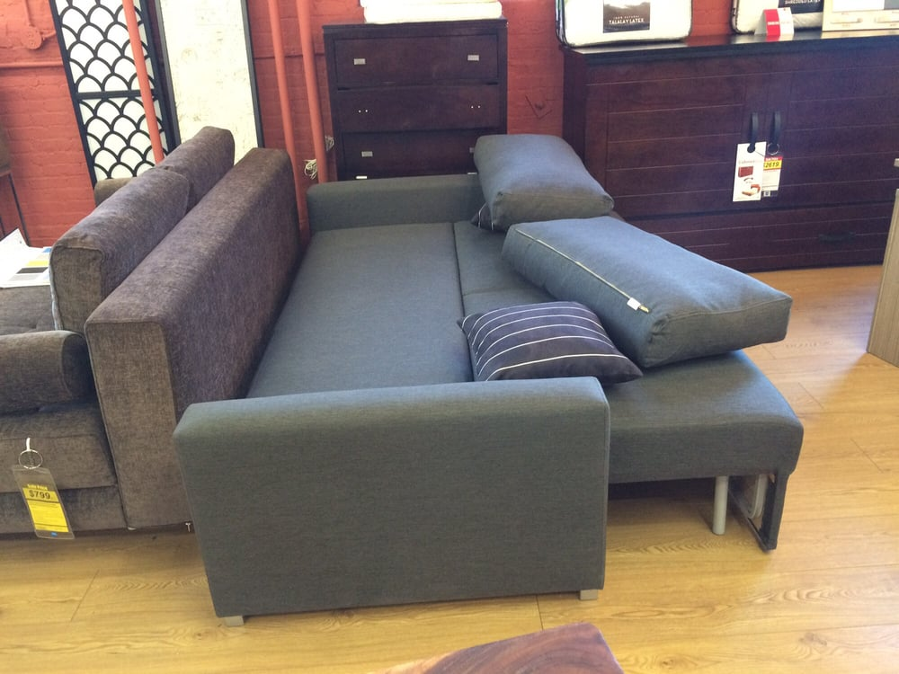 Extended sleeper sofa yelp for Furniture factory outlet