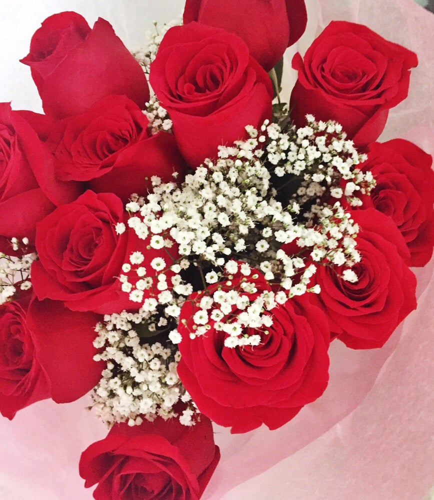 Beautiful Roses From Saks Florist On Valentines Day They Never