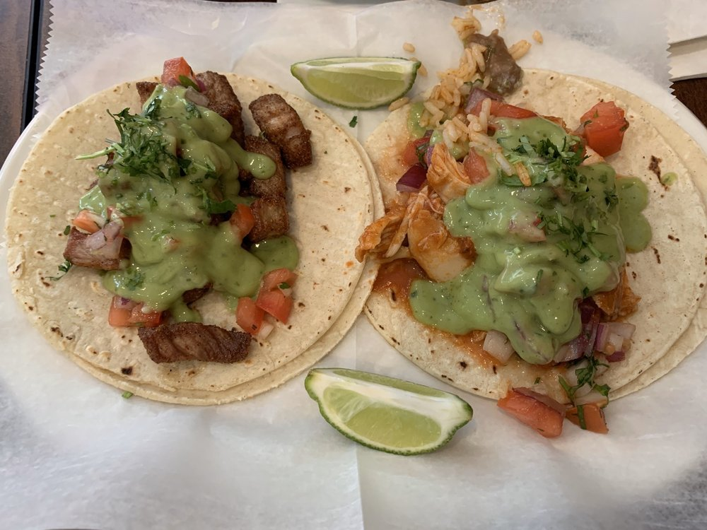 Food from El Guapo Tacos & Tequila