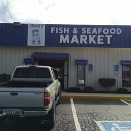 Look carefully for market once you turn on trabue east for Franks fish market
