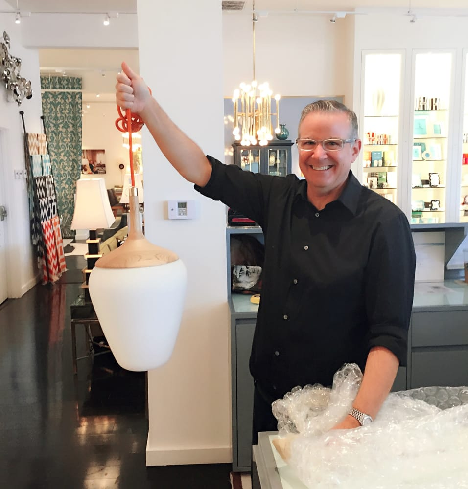 John p being simultaneously helpful adorable with the buenos photo of jonathan adler los angeles ca united states john p aloadofball Image collections