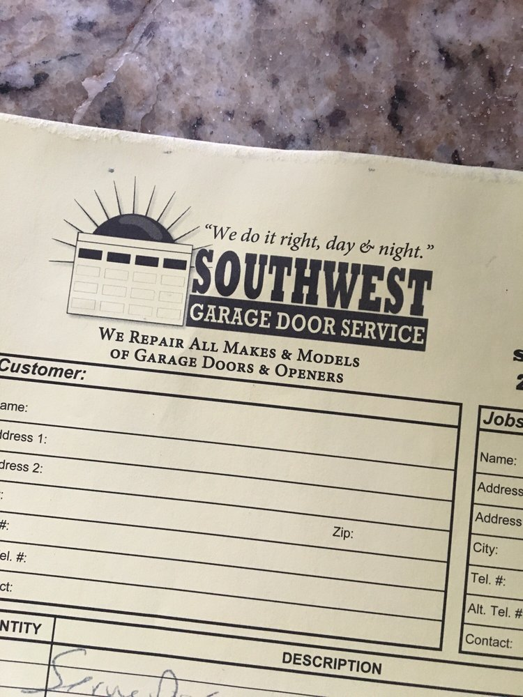 Southwest Garage Door