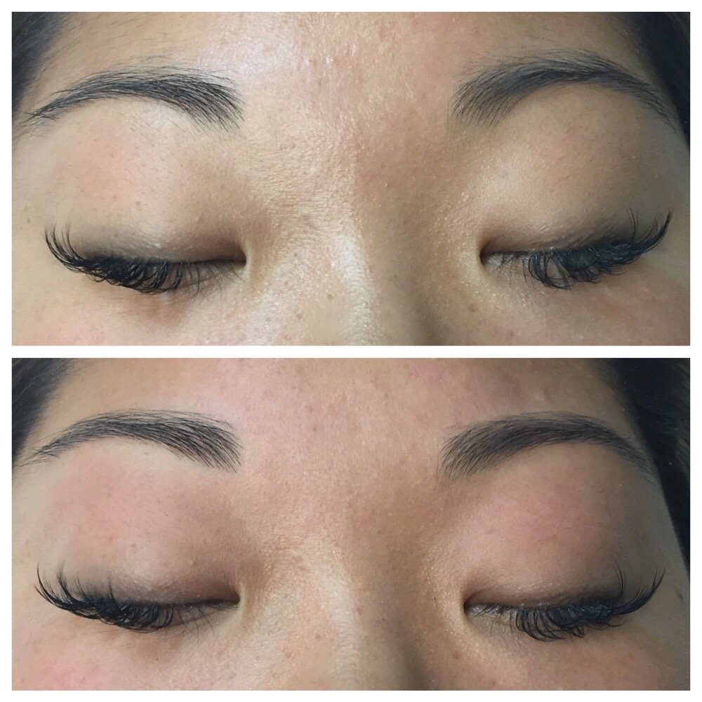 Before And After Eyebrow Threading Yelp