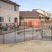 We Installed Photo Of Guardian Pool Fence Systems Fresno Ca United States