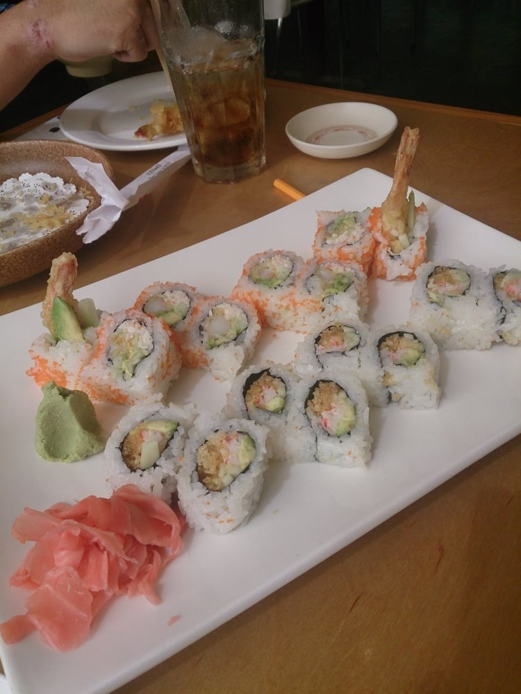 Crazy Horse - Origami Sushi, View Online Menu and Dish Photos at Zmenu | 1000x750