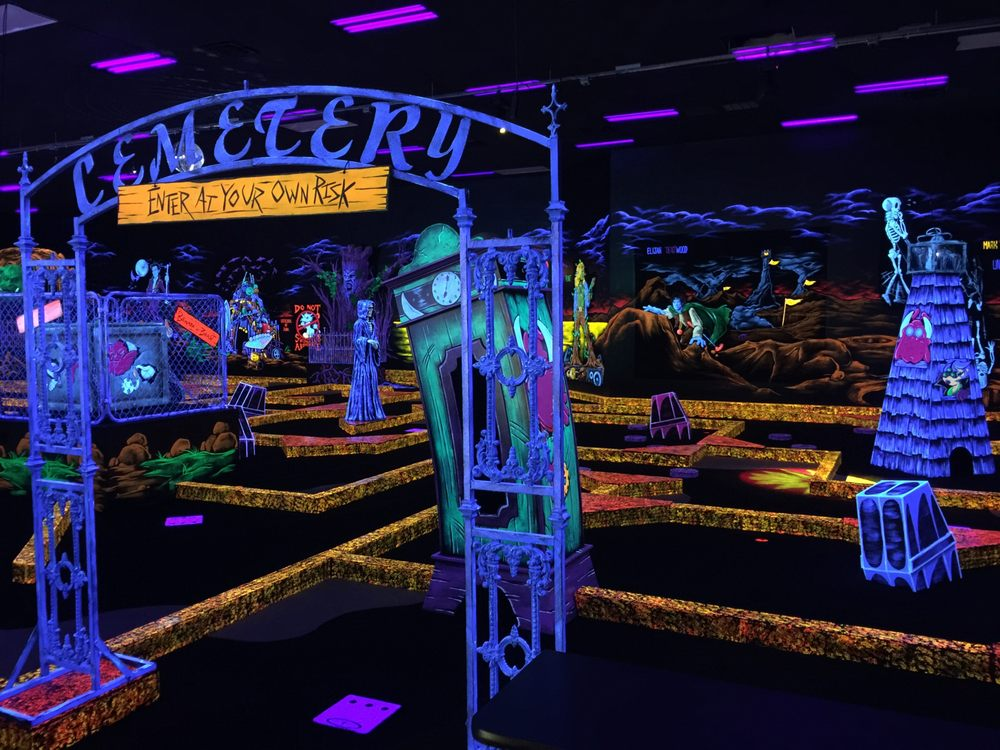 Monster Mini Golf & Laser Tag