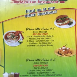Moses Lake Mexican Restaurants