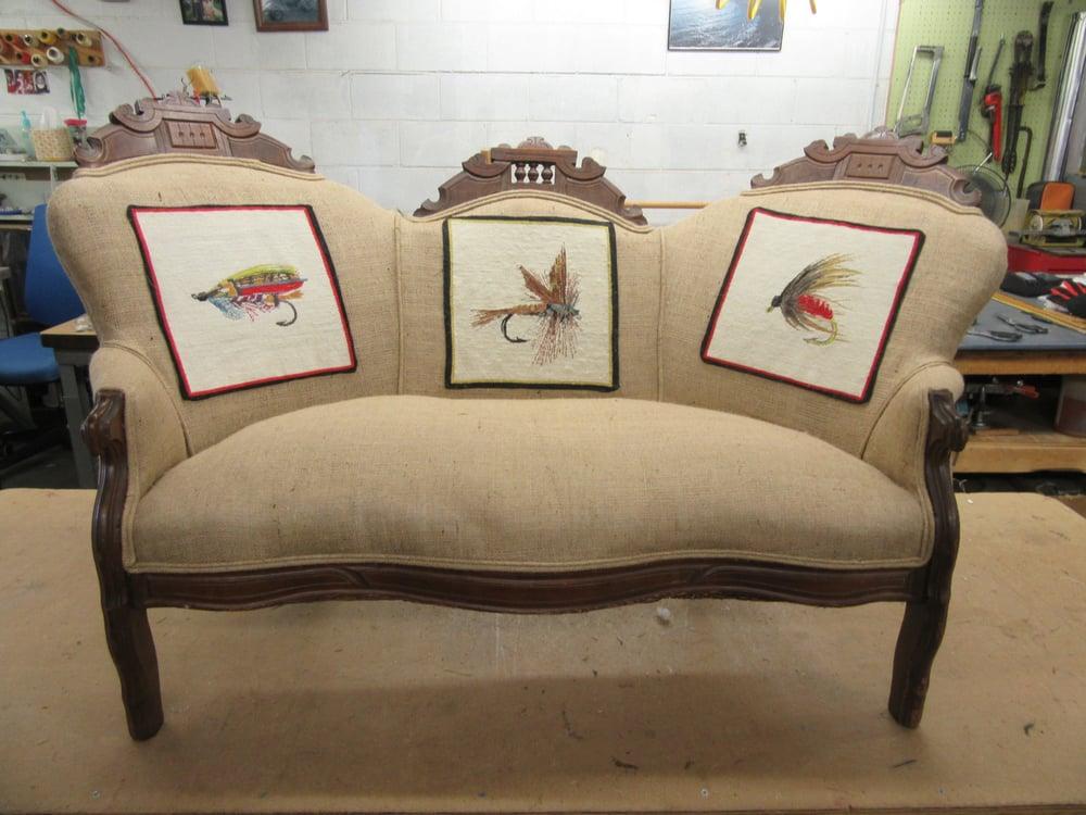 budget upholstery furniture reupholstery 223 blue ridge st hendersonville nc phone. Black Bedroom Furniture Sets. Home Design Ideas