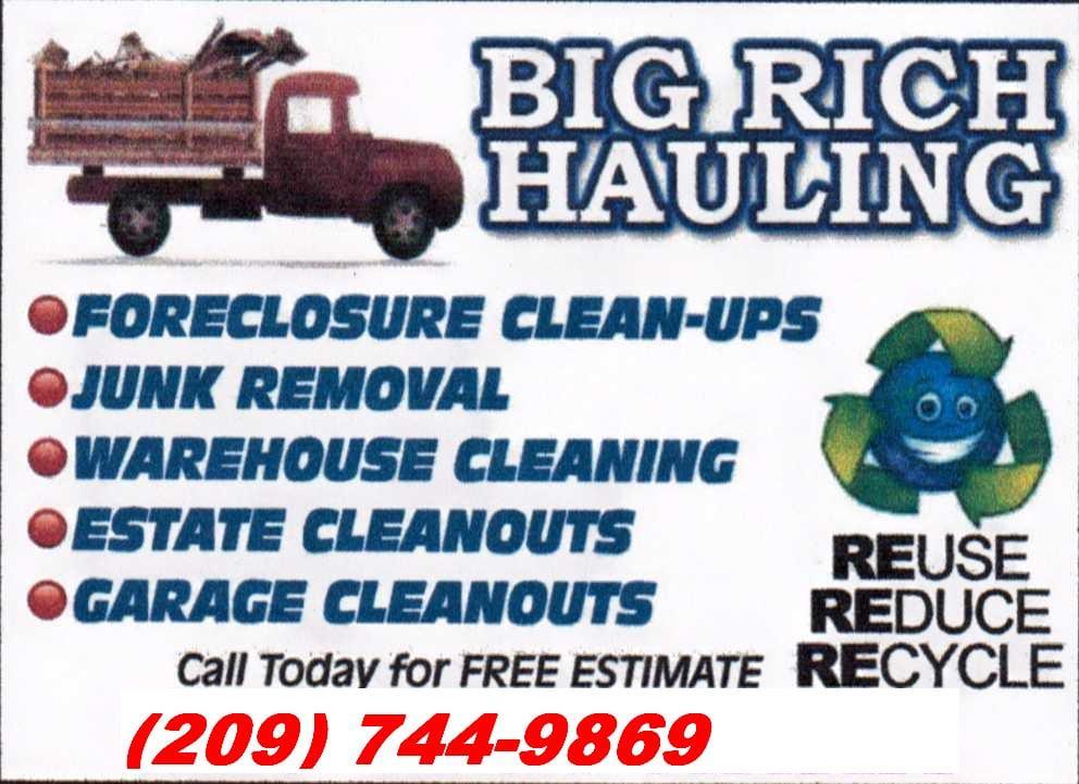 Big Rich Hauling Service