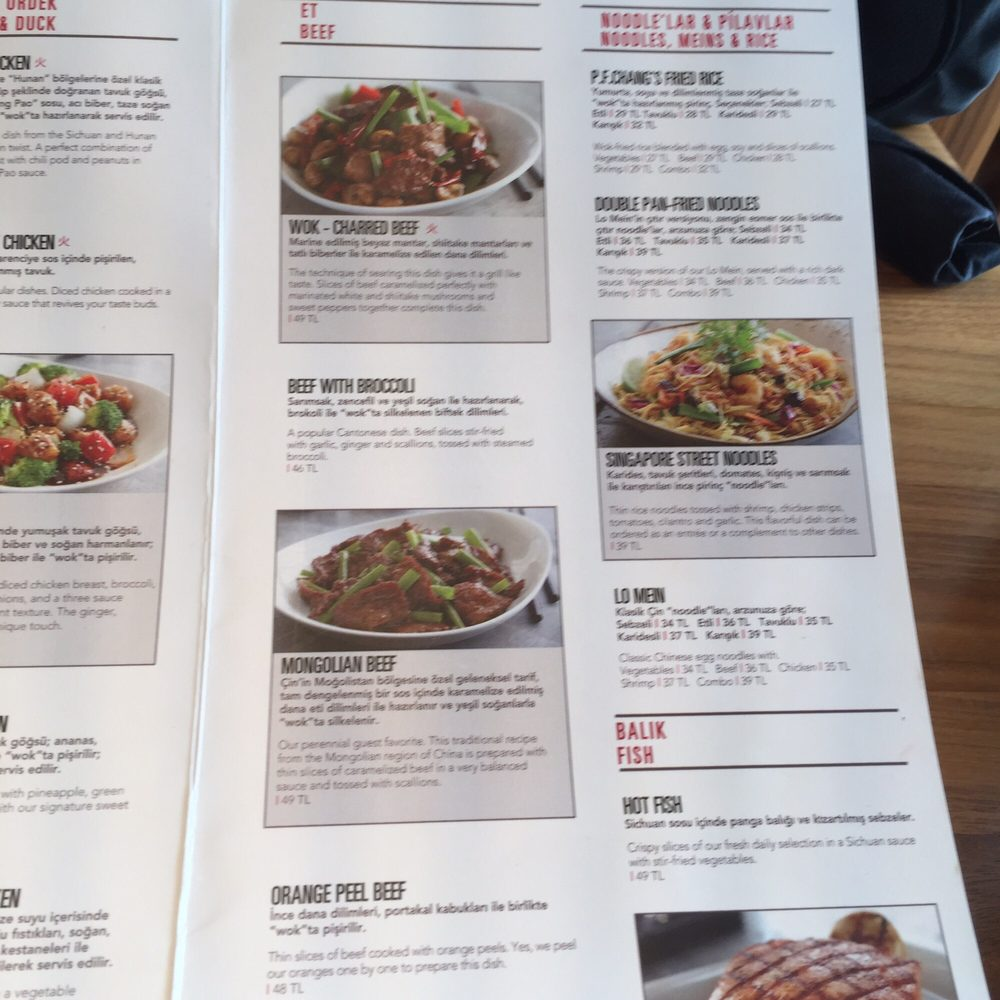 Photos for P.F. Chang\'s | Menu - Yelp
