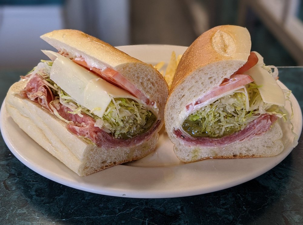 Food from C J's Deli