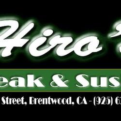 Hiros Steak & Sushi logo