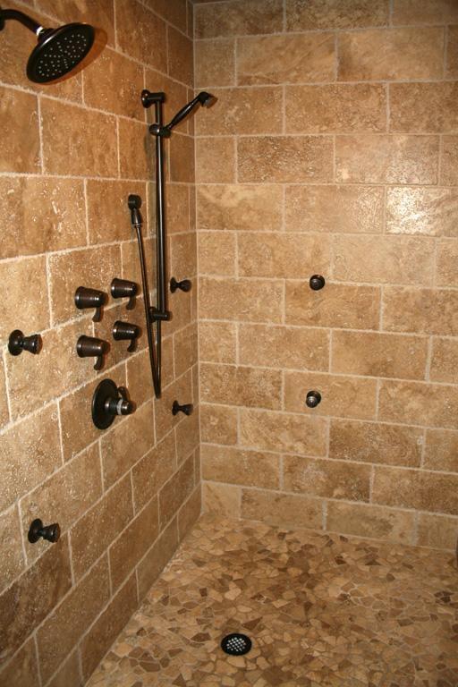 Travertine Tile Shower Yelp
