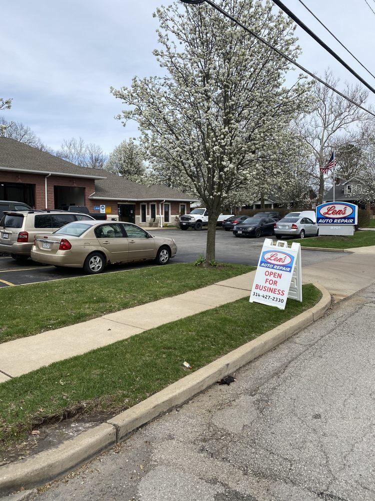 Len's Auto Repair: 8701 Lackland Rd, Saint Louis, MO