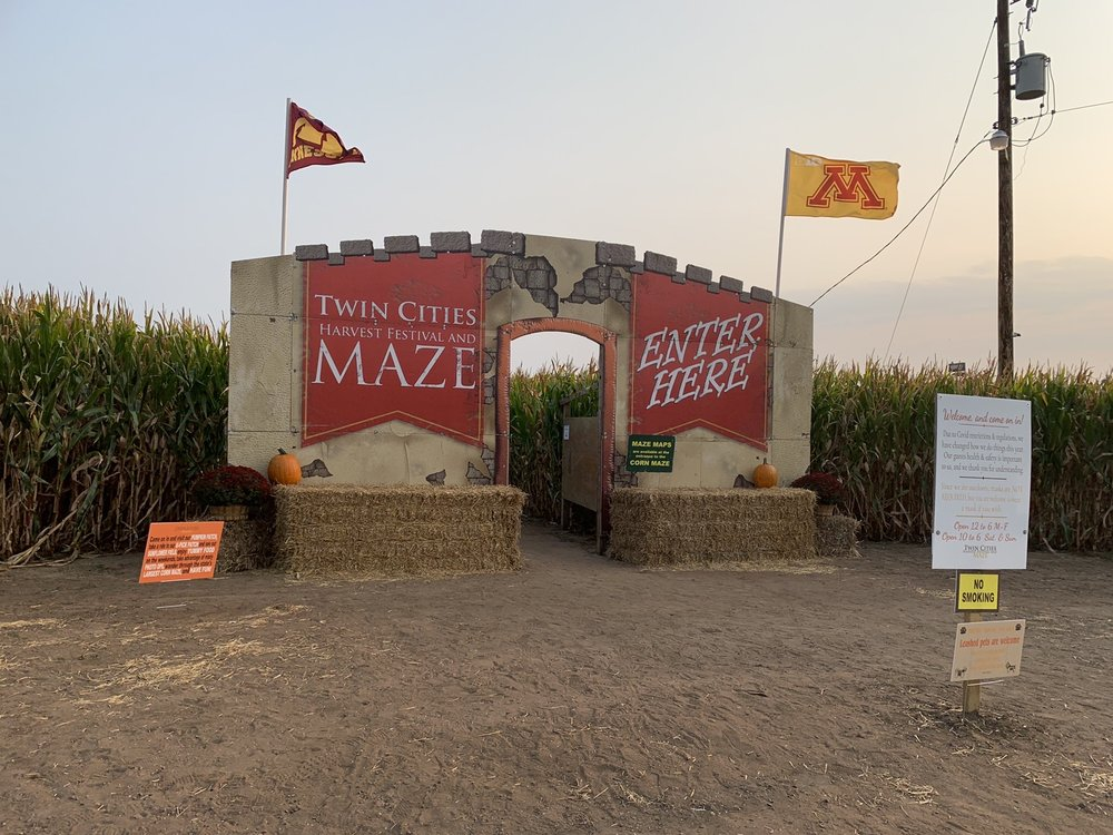 Twin Cities Harvest Festival and Maze: 8001 109th Ave N, Brooklyn Park, MN