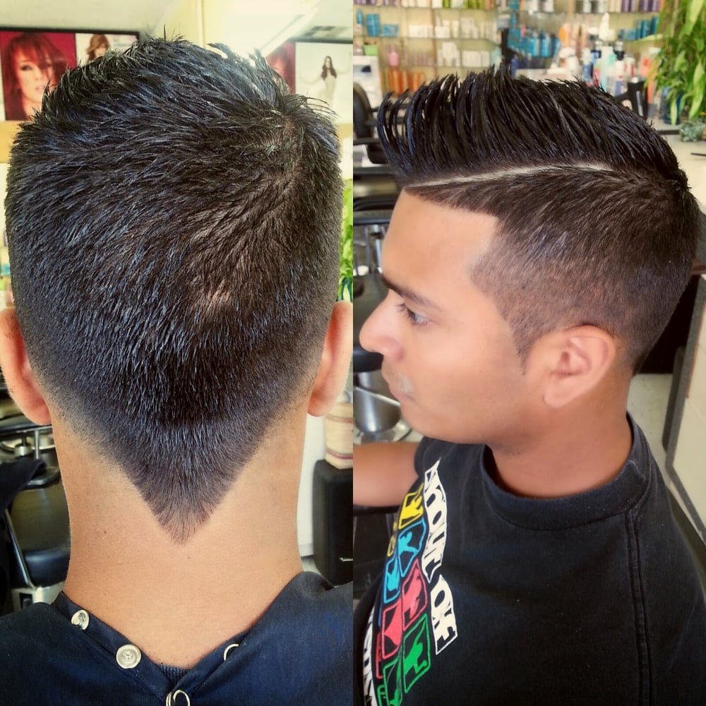 Frohawk With Tapered Sides And V Cut In The Back Yelp
