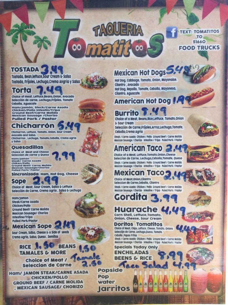 Taqueria Tomatitos: 595 10th St, Plainwell, MI