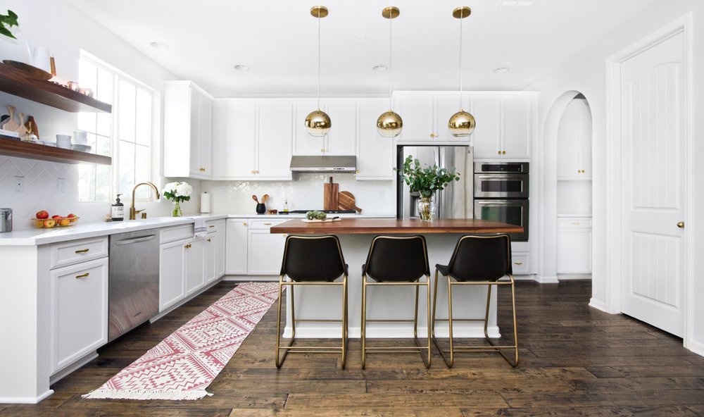 Photo Of Panorama Interiors   Carlsbad, CA, United States. Modern White  Kitchen With