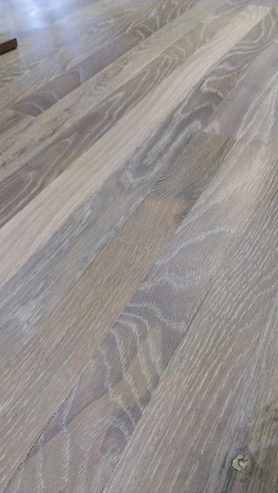 Rubio S Monocoat Dye Quot Smoke Quot Over Red Oak Call For Demo